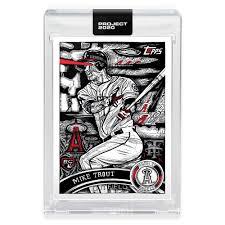 Mlb Project 2020 Baseball 2011 Mike Trout Trading Card 121 By Jk5 Walmart Com Walmart Com