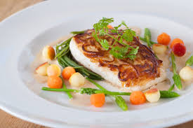 Halibut Recipe With Fregola & Scallops ...