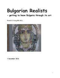 Bulgarian Realists - getting to know Bulgaria through its Art by Ronald  Young - issuu