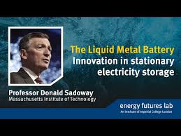 the liquid metal battery innovation in