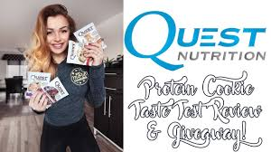 new quest nutrition protein cookie