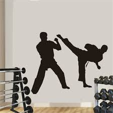 Boxing Club Taekwondo Karate Sticker Kick Play Car Decal Free Combat Posters Vinyl Striker Wall Decals Decor Wish