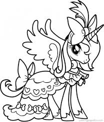Princess Cadence From My Little Pony Coloring Pages My Little