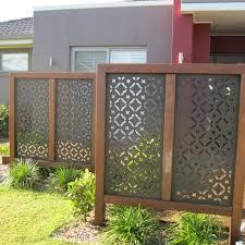 aluminum garden fence panel