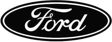 Amazon Com 8 Ford Vinyl Lettering Logo Decal Sticker Die Cut Black