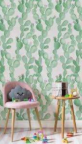 Cactus Themed Room For Kids The Inspiration Edit Childrens Bedroom Wallpaper Kids Bedroom Decor Wallpaper Decor Bedroom