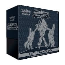 Pokemon TCG: Sun and Moon Burning Shadows Elite Trainer Box - Walmart.com -  Walmart.com