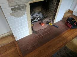 remove and level this hearth