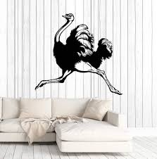 Vinyl Wall Decal Ostrich Animal Room Decoration Stickers Murals Unique Wallstickers4you