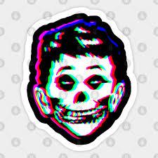 Mad Misfits Re Make Glitch Ver The Misfits Sticker Teepublic
