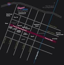 downtown las vegas map fremont