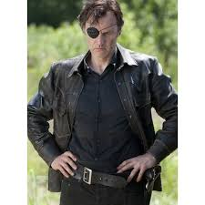 walking dead leather jacket