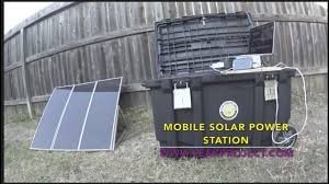 solar generator diy portable power