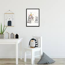 Sincerely Not Kids Bedroom Unicorn Zebra Art Print Make Your Own Magic Sincerely Not