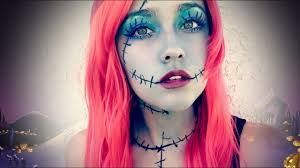 easy sally makeup the nightmare before