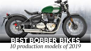 top 10 bobber motorcycles showing a