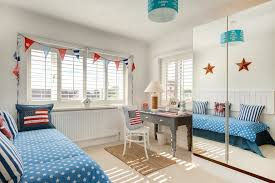 How Cool And Breezy Fresh Beach Bedroom Decor For Kids By Tina Campbell Medium