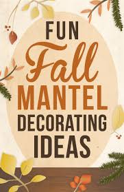 fall decorating ideas for dressing up