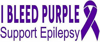 Epilepsy Decal Awareness I Bleed Purple Support Vinyl Wall Decal Or Car Sticker Ebay