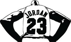 Michael Jordan Vinyl Decal Sticker Basketball Bulls 23 Car Window Laptop Cup For Sale Online