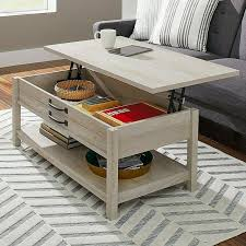 union rustic langer coffee table for