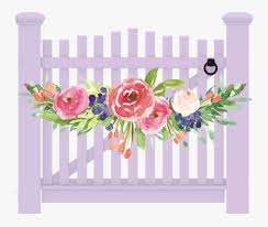 Transparent Fence Clipart Gate For Garden Png Free Transparent Clipart Clipartkey