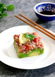 Tuna Tartare with Ginger Soy Dressing ...