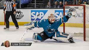 Dell living in moment with Sharks after long journey to NHL