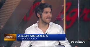 Taboola CEO Adam Singolda on ad mergers and Facebook competition