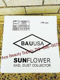 sunflower ii led nail dust collector