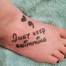 disney quote tattoos popsugar love uk