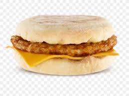sausage mcin breakfast sandwich
