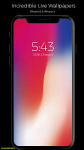 live wallpaper for iphone x