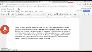 Voice Recorder on Google Docs - YouTube