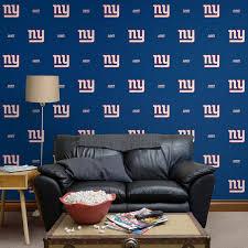 new york giants logo pattern blue
