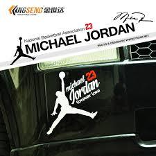 Buy Nba Basketball Team Car Stickers Metal Car Stickers Car Decoration Stickers Modified Car Trailer Jordan Logo In Cheap Price On M Alibaba Com