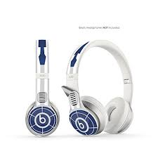 R2 D2 Vinyl Art Decal Skin Designed To Fit Beats By Dre Solo 2 Headphones Headphones Not Included On Star Wars
