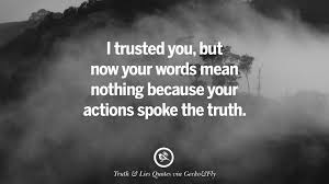 quotes on truth lies deception and being honest