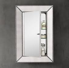 beaded venetian medicine cabinet