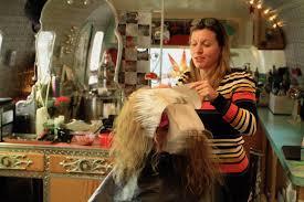 glacier hairdresser transforms tresses