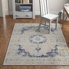 hosking blue area rug rug size
