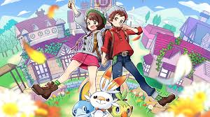 Pokemon Sword and Shield Pokemon Trainer Starter Pokemon 4K ...