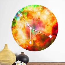 Cancer Sun Sign Wall Decal Zodiac Horoscope Astrology Symbol