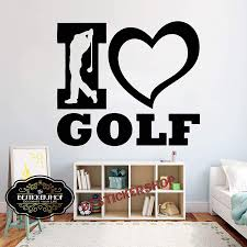 Amazon Com Golf Wall Decal Golf Decals Golf Quotes Decals Sport Wall Decals Vinyl Sticker Room Decal 1699re Home Kitchen