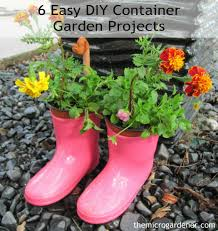 6 easy diy container garden projects