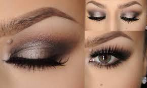 halo smokey eyes for small eyelids