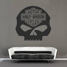 Motorcycles Harley Davidson Skull Logo Wall Decor Logo Wall Harley Davidson Harley