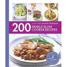 200 family slow cooker recipes book