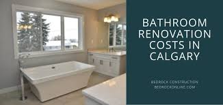 bathroom renovation cost in calgary