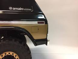 Traxxas Trx4 Ford Bronco Decal Kit Sor Rc Products